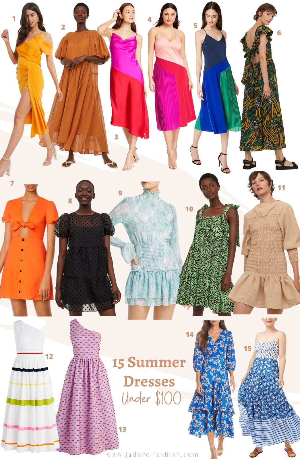 Perfect Summer Dresses Under $100