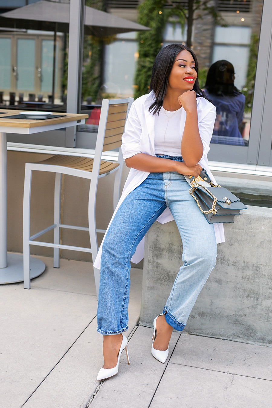 a new way to style jeans