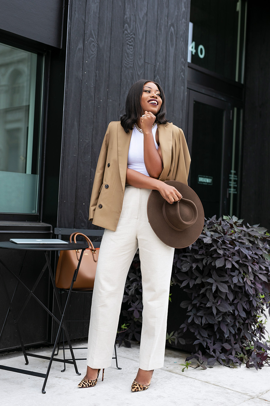 how to wear neutral colors for fall