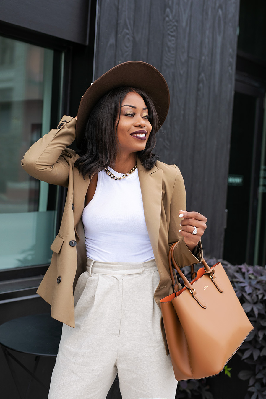 fall style in neutrals