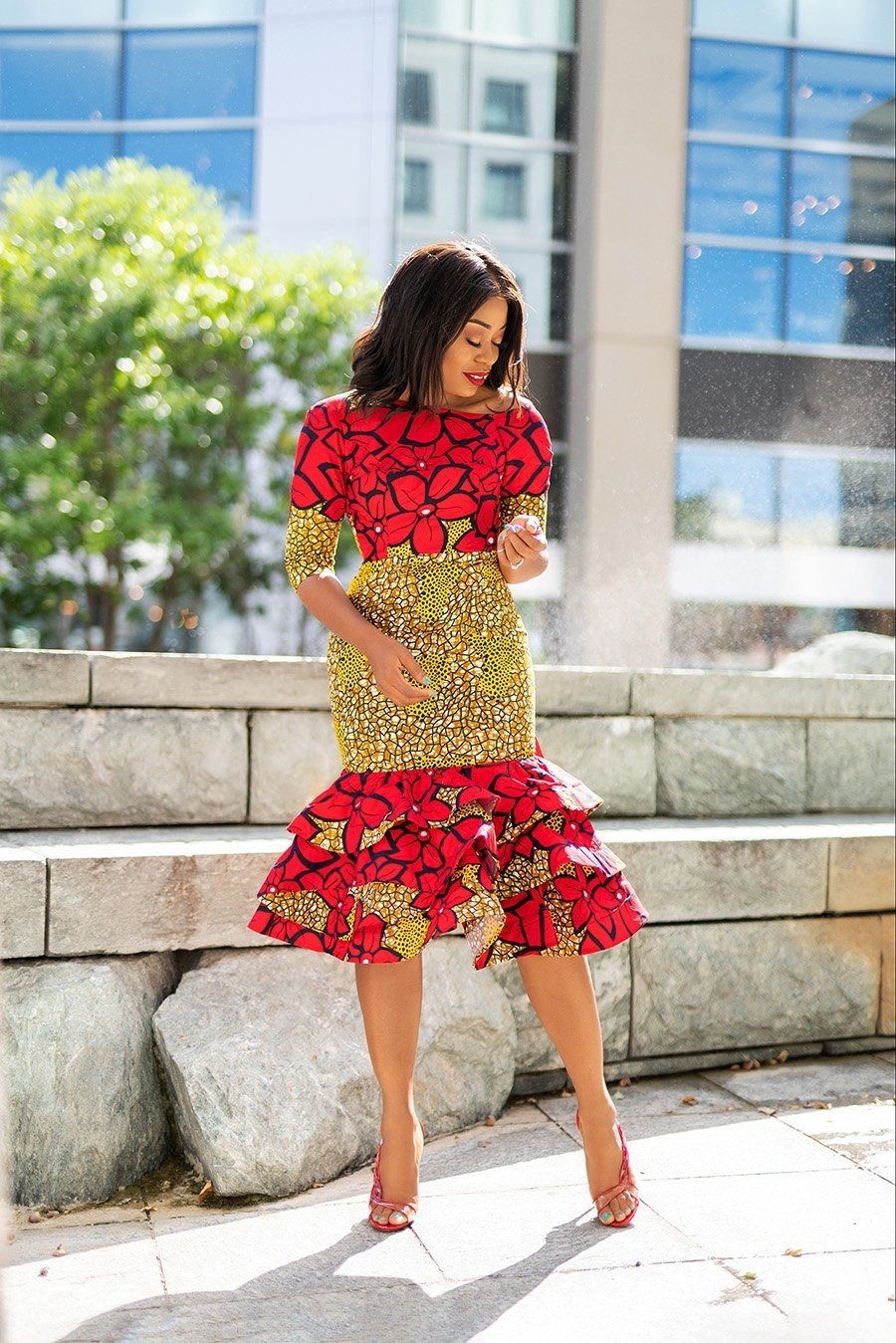 Stella-Adewunmi-of-Jadore-Fashion-shares-what-to-wear-this-holiday-and-beyond-ankara-dress