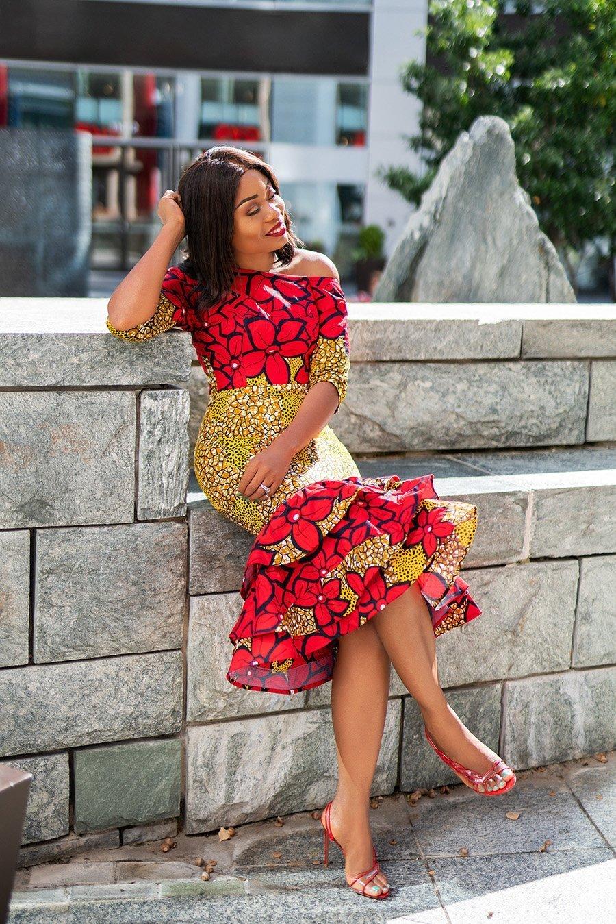 Stella-Adewunmi-of-Jadore-Fashion-shares-her-ankara-print-dress