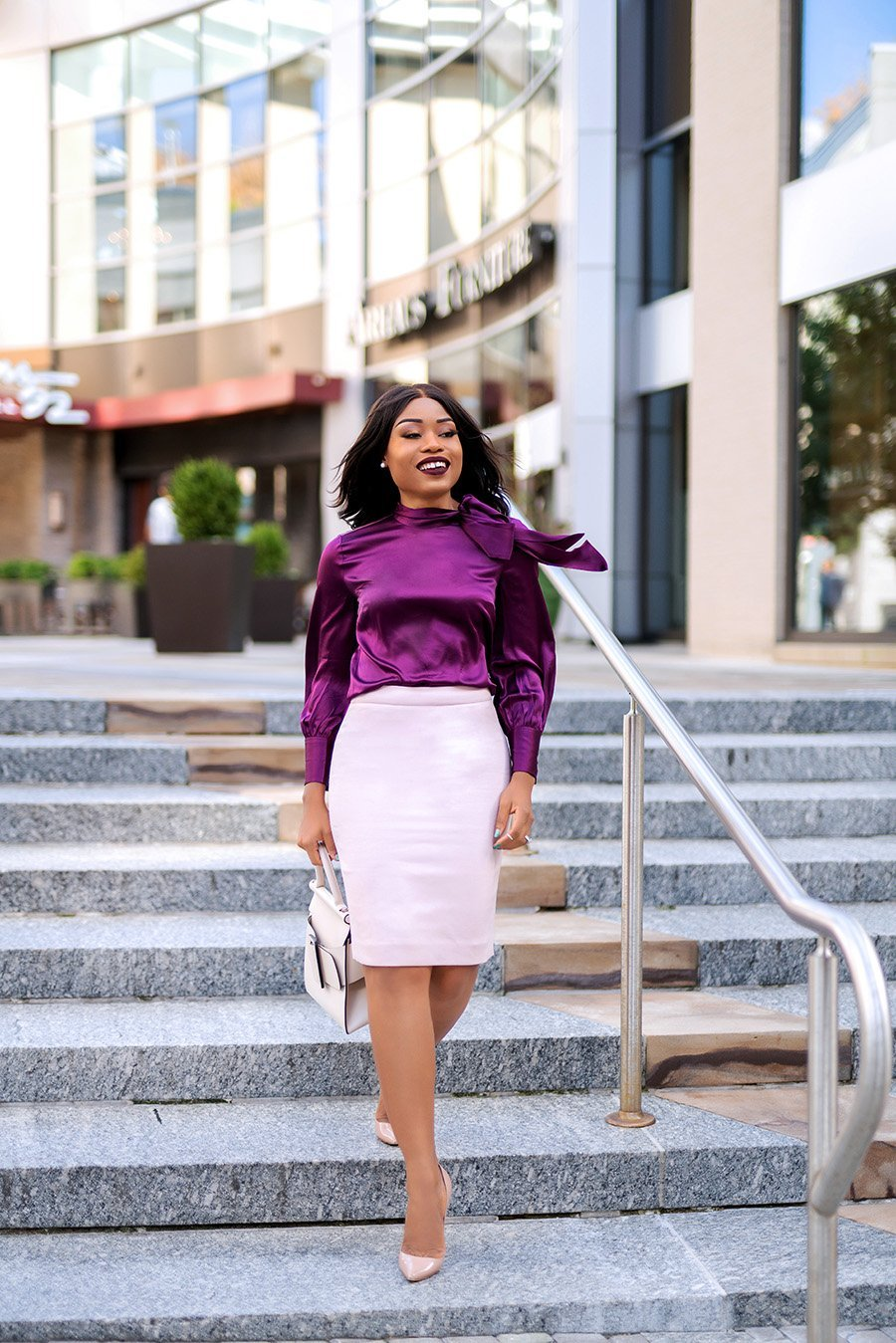 Fashion-blogger-Stella-Adewunmi-of-Jadore-Fashion-show-how-to-mix-color-for-fall-work
