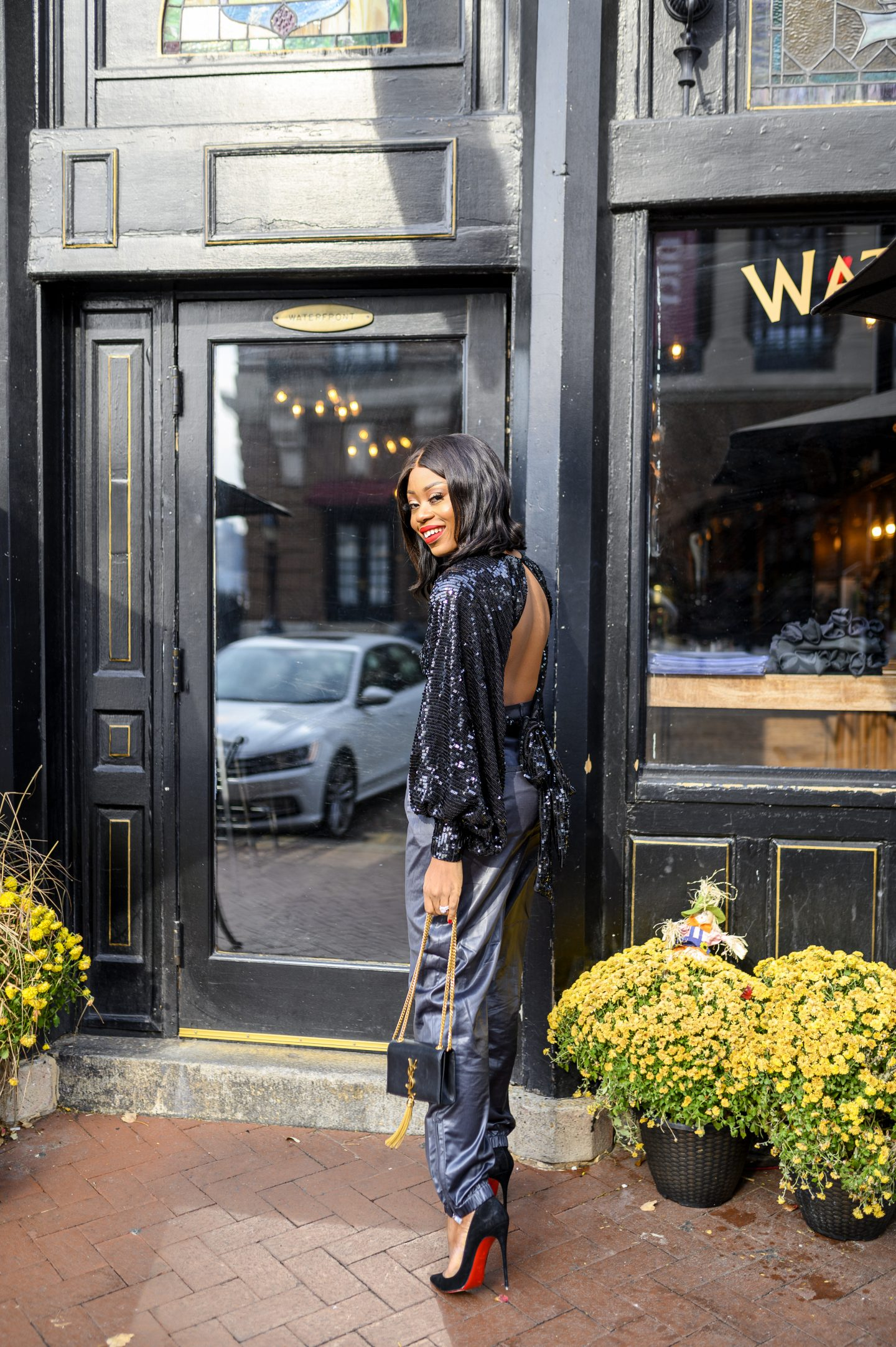stella-eneanya-adewunmi-of-jadore-fashion-black-friday-sale-asos-sequins-tibi-leather-pants-bottega-mesh-shoes