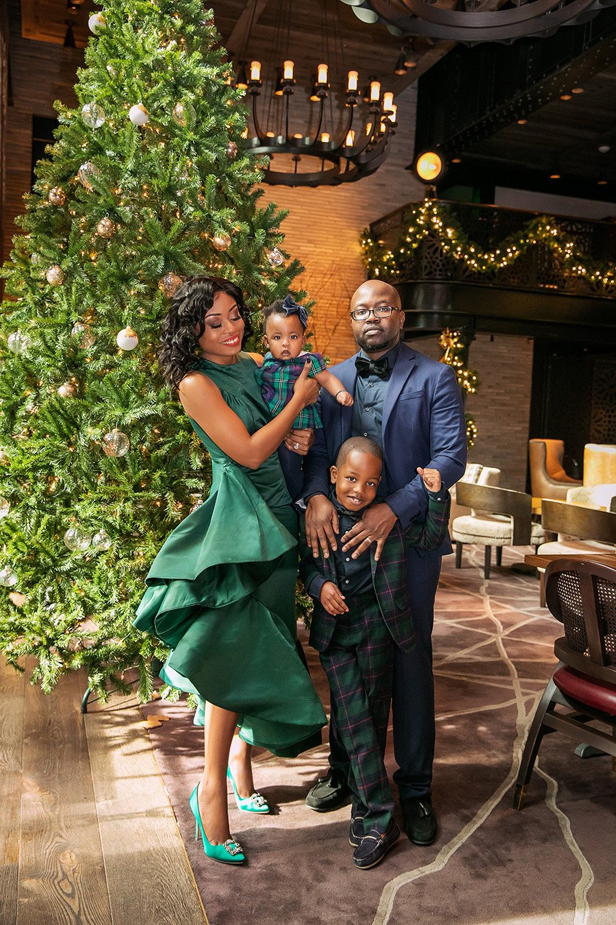 Stella Adewunmi shares her Christmas holiday with family