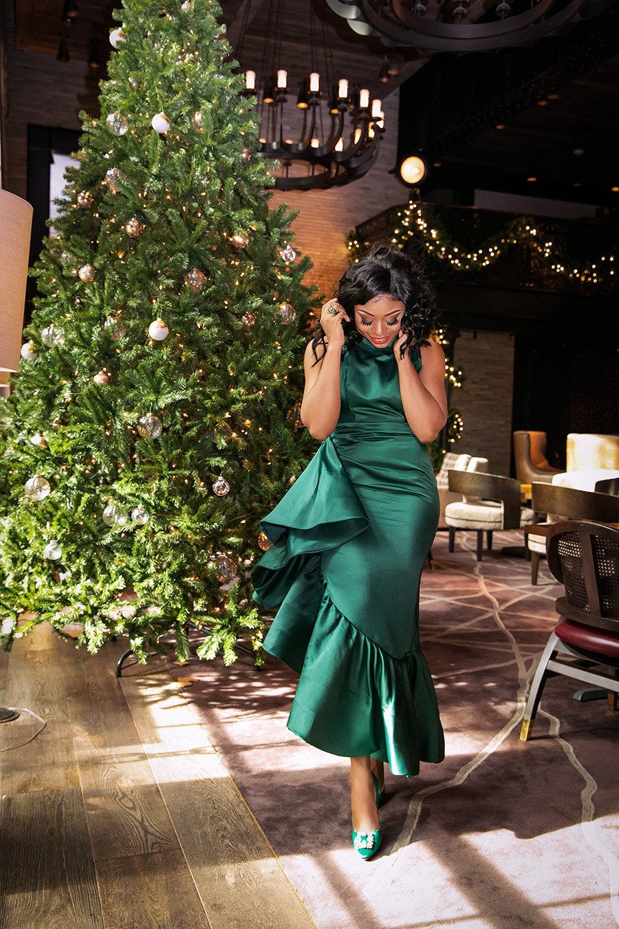 stella-adewunmi-of-jadore-fashion-green-statement-dress