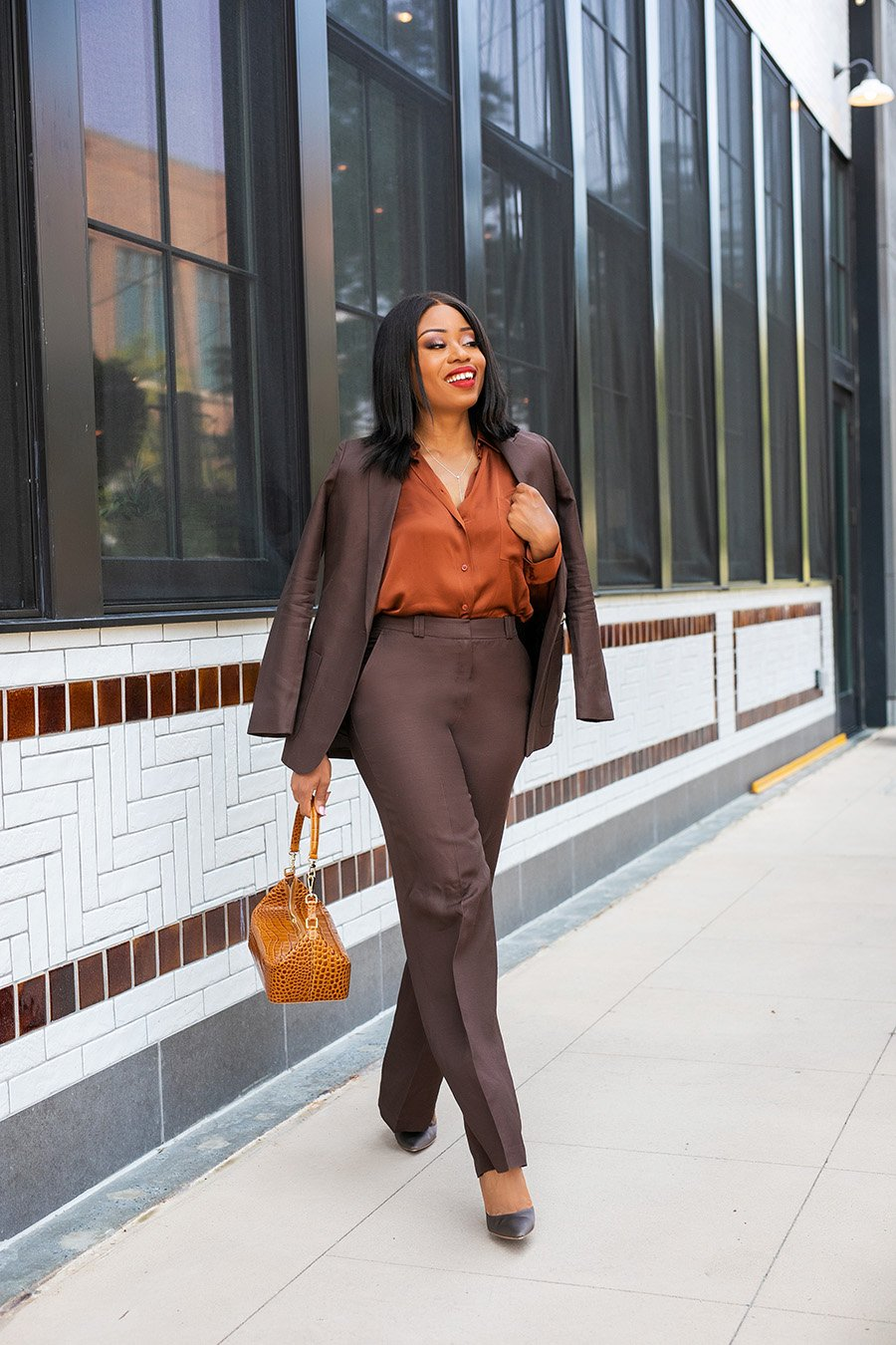 Stella Adewunmi shares effortless work style