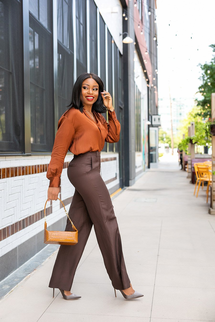 Stella-Adewunmi-shares-easy-and-effortless-work-outfit