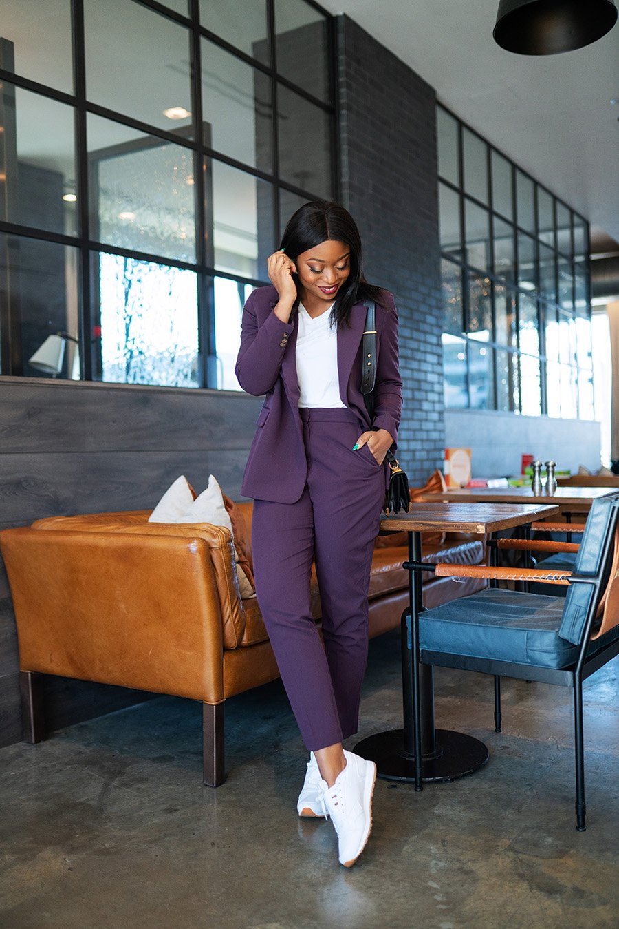 Stella-Adewunmi-of-jadore-fashion-share-how-to-style-colored-suits-and-sneakers