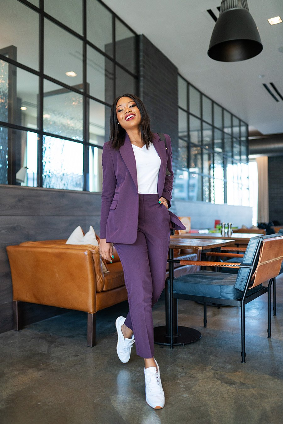 Stella-Adewunmi-of-jadore-fashion-share-how-to-style-suits-and-sneakers