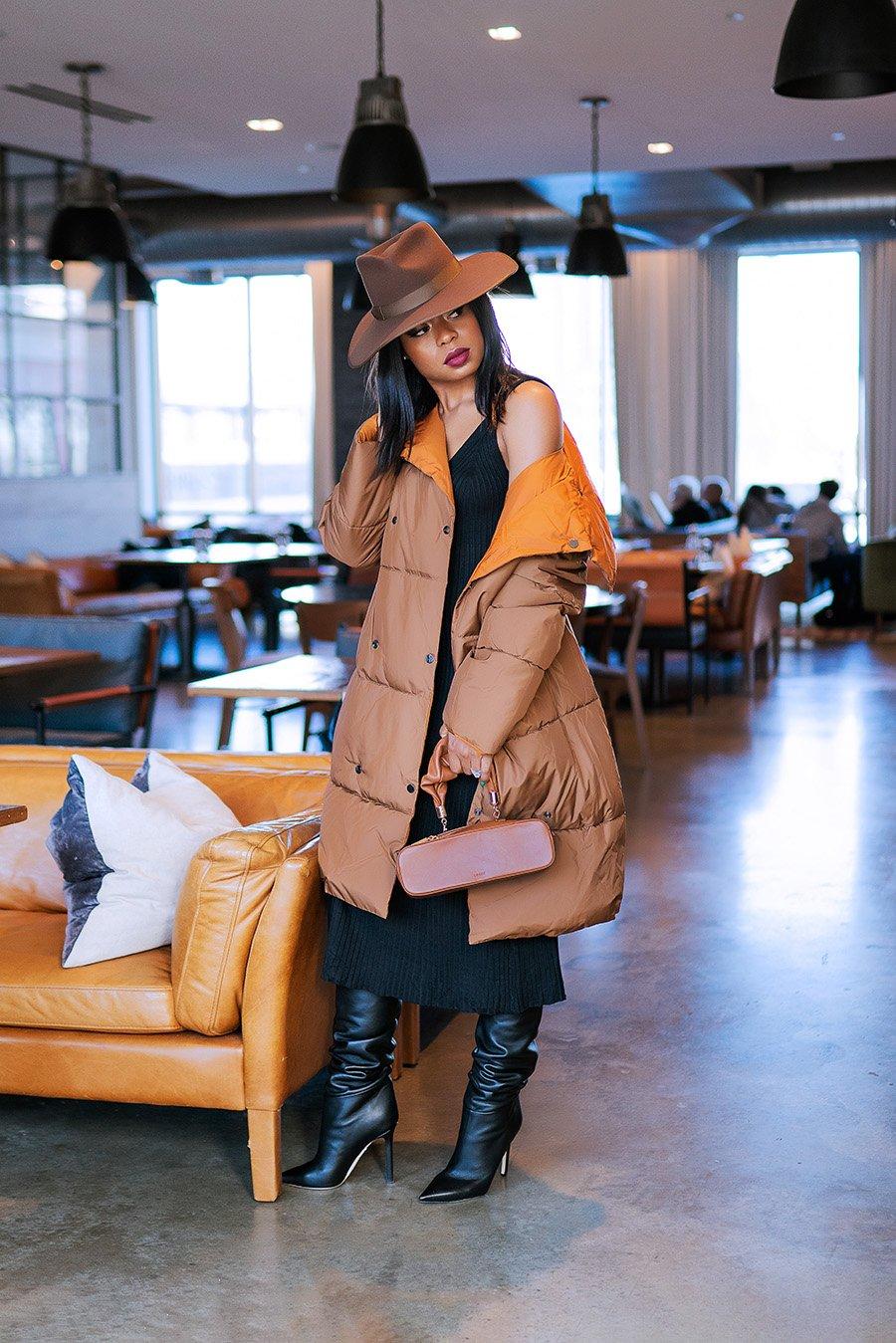 stella-adewunmi-of-jadore-fashion-blog-shares-sweater-dress-puffer-coat
