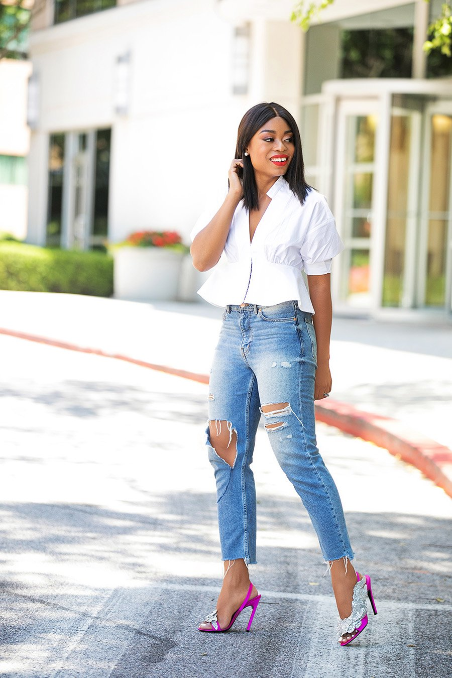 Stella-adewunmi-of-jadore-fashion-shares-3-tips-to-spice-up-your-jeans-now