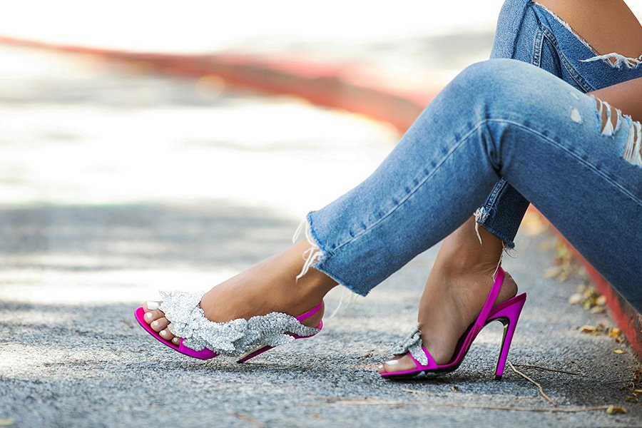 balenciaga-embellished-satin-sandals