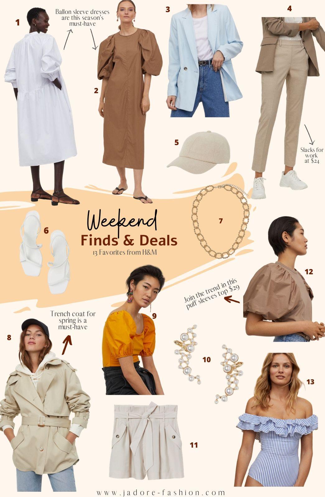 Weekend Finds & Deals: H&M Favorites