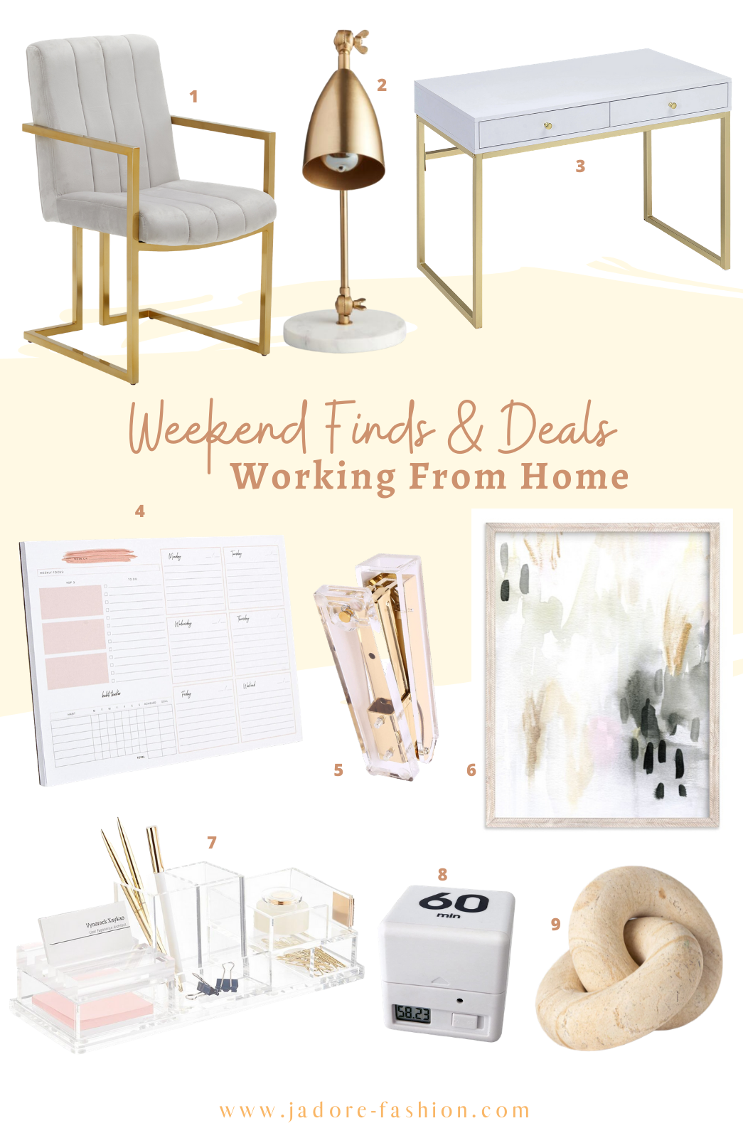 Weekend Finds And Deals: Decorate Your Home Office