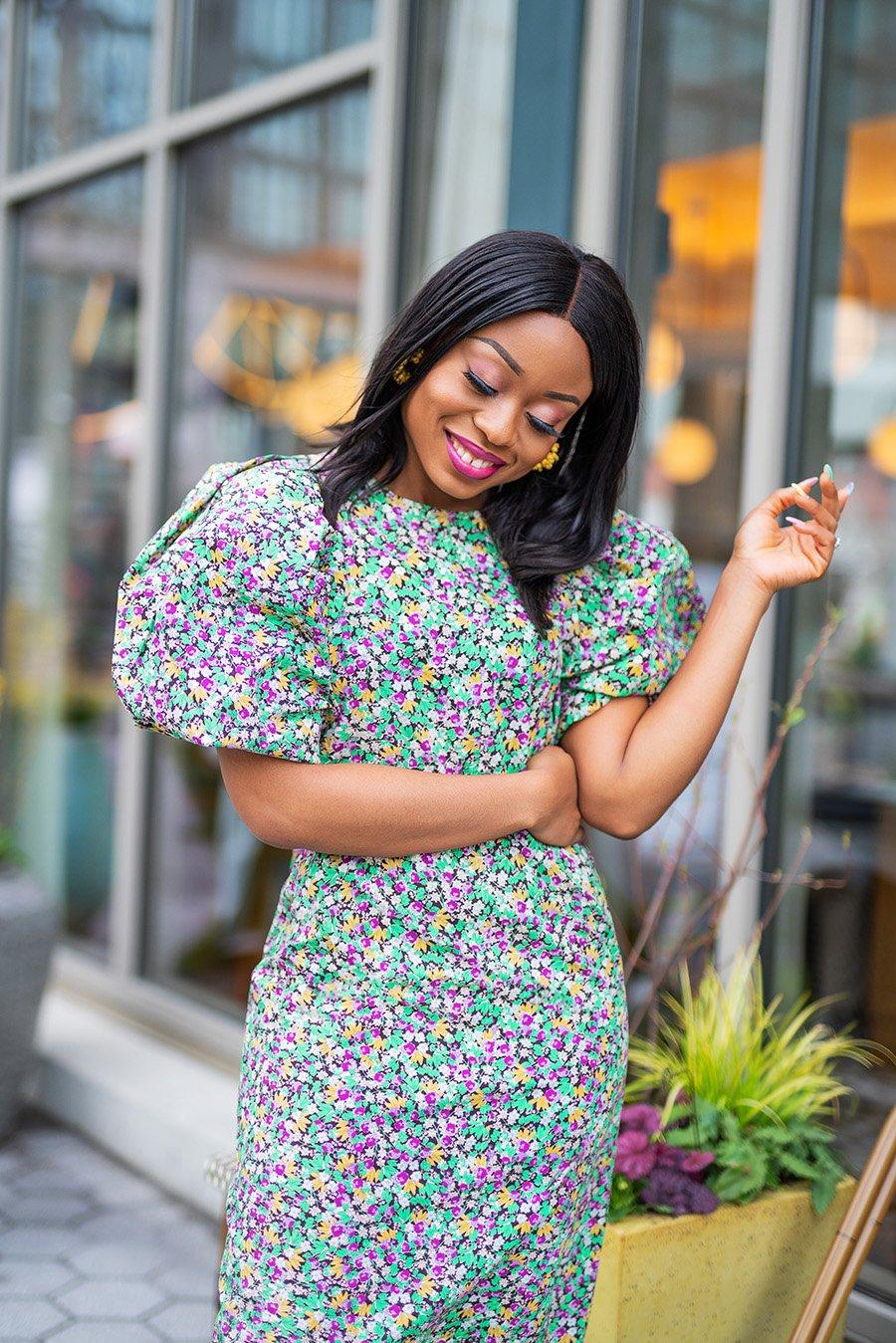 stella-adewunmi-of-jadore-fashion-blog-share-spring-puffy-sleeve-dress