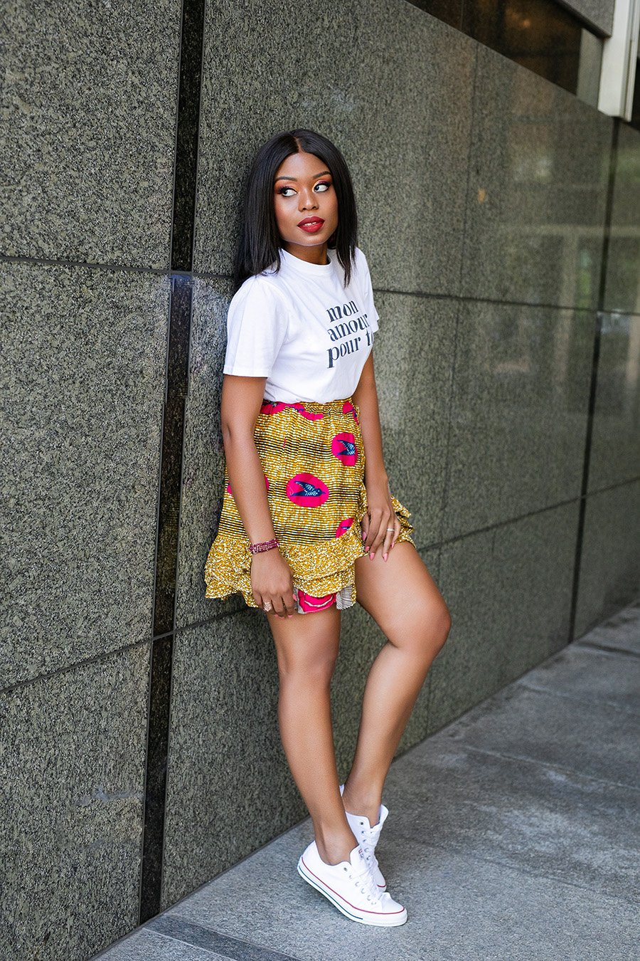 african-print-skirt-graphic-tee