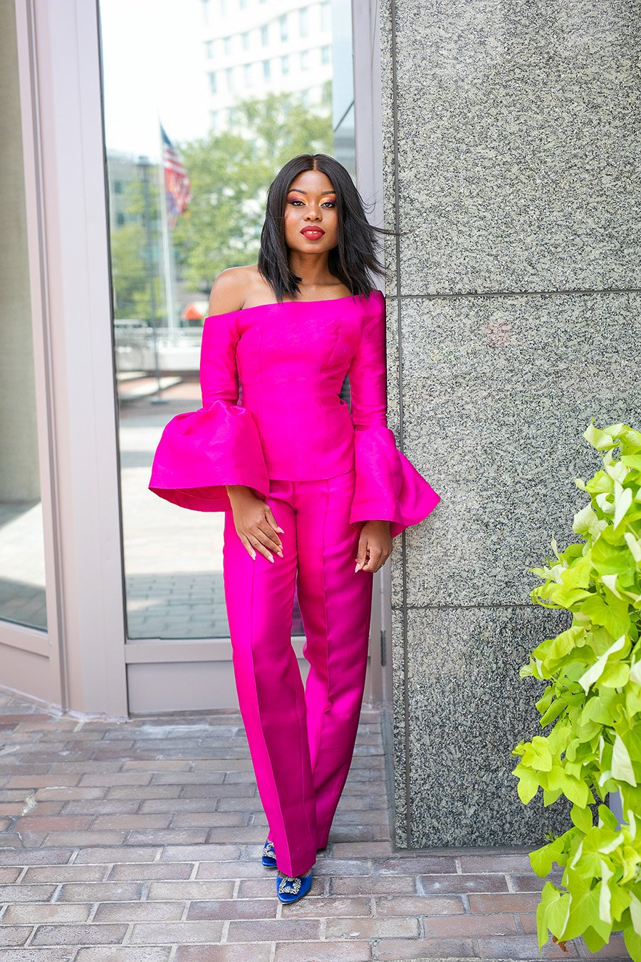 stella-adewunmi-of-jadore-fashion-blog-black-business-African-designer-imad-eduso-pink-outfit
