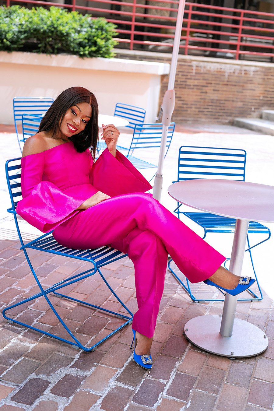 stella-adewunmi-of-jadore-fashion-shares-5-ways-to-support-black-community-black-businesses-imad-eduso-pink-outfit