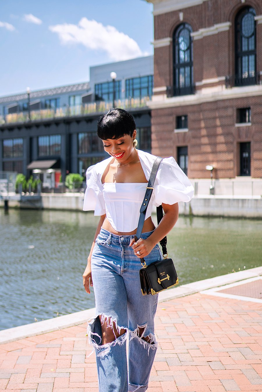 stella-adewunmi-of-jadore-fashion-blog-solance-london-pia-puffed-sleeve-crop-top-jeans