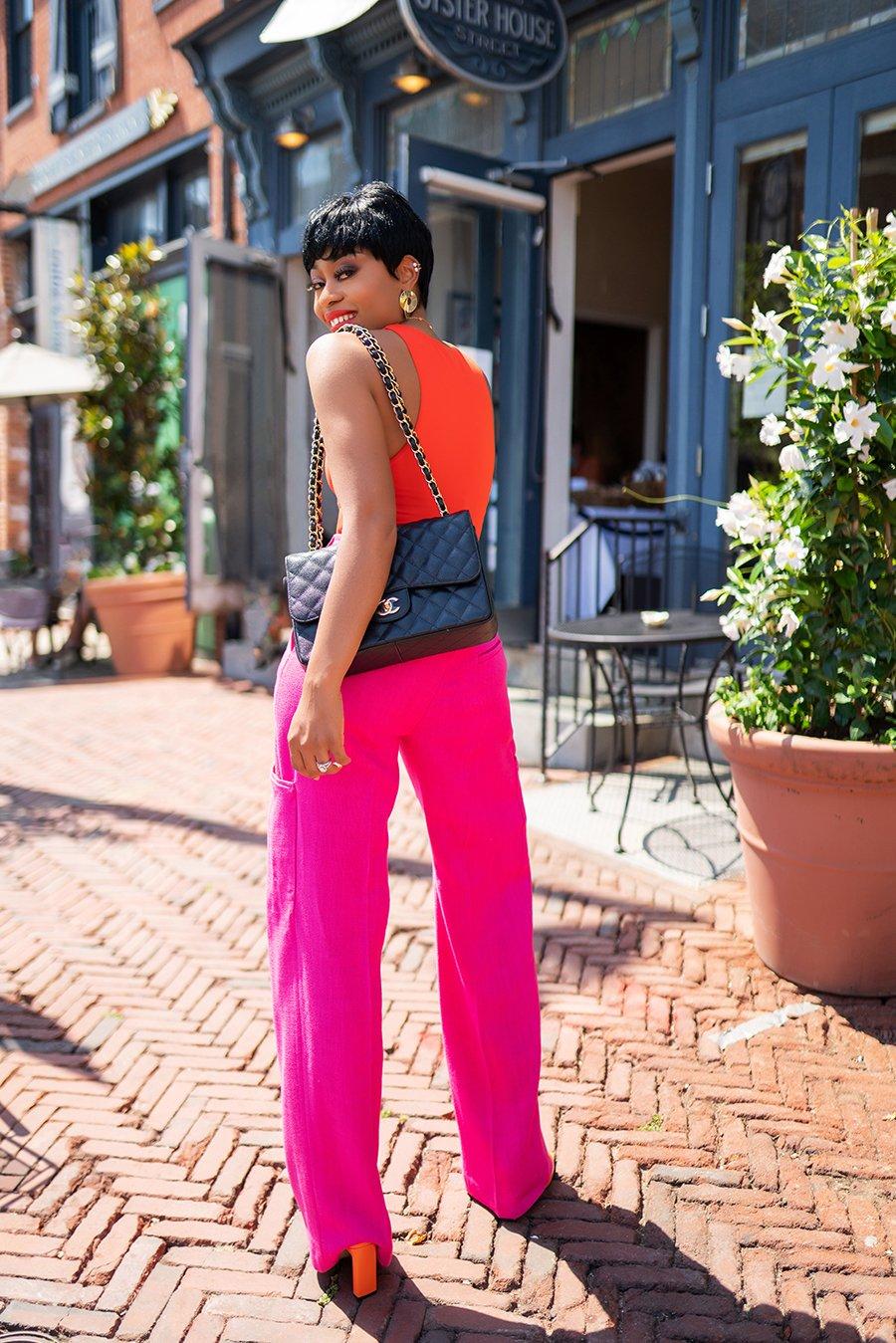 Summer-bold-colors-pinkl-orange-mix