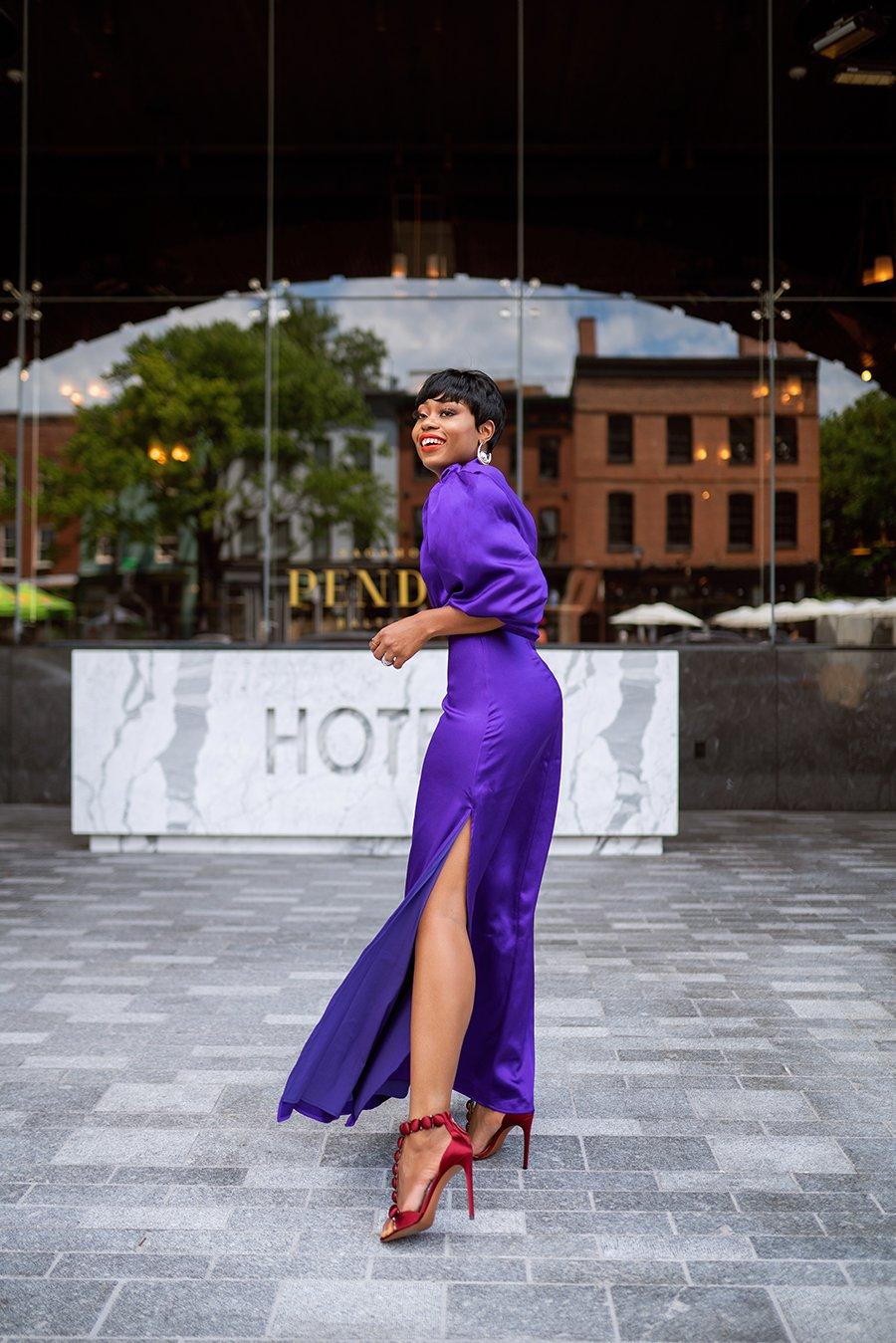 stella-adewunmi-of-jadore-fashion-blog-shares-Virgos-Lounge-purple-dress