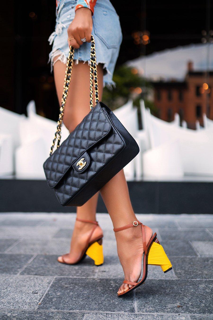 Balenciaga-sandals-chanel-bag