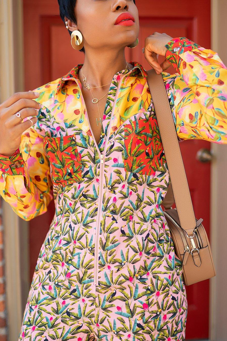 stella-adewunmi-of-jadore-fashion-blog-shares-multi-print-jumpsuit-farmrio-shopbop