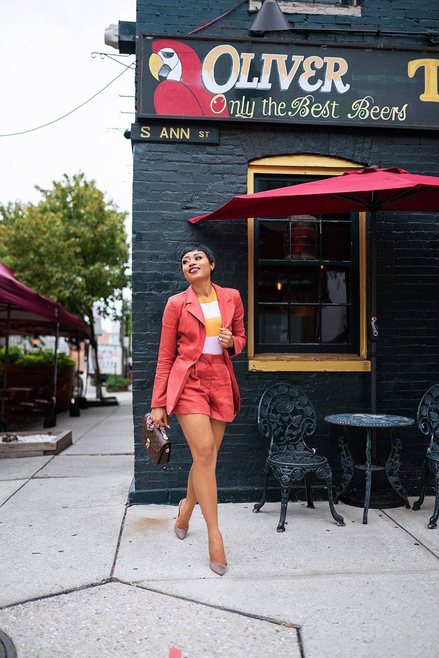 stella-adewunmi-of-jadore-fashion-blog-shares-nordstom-rack-short-blazer-set