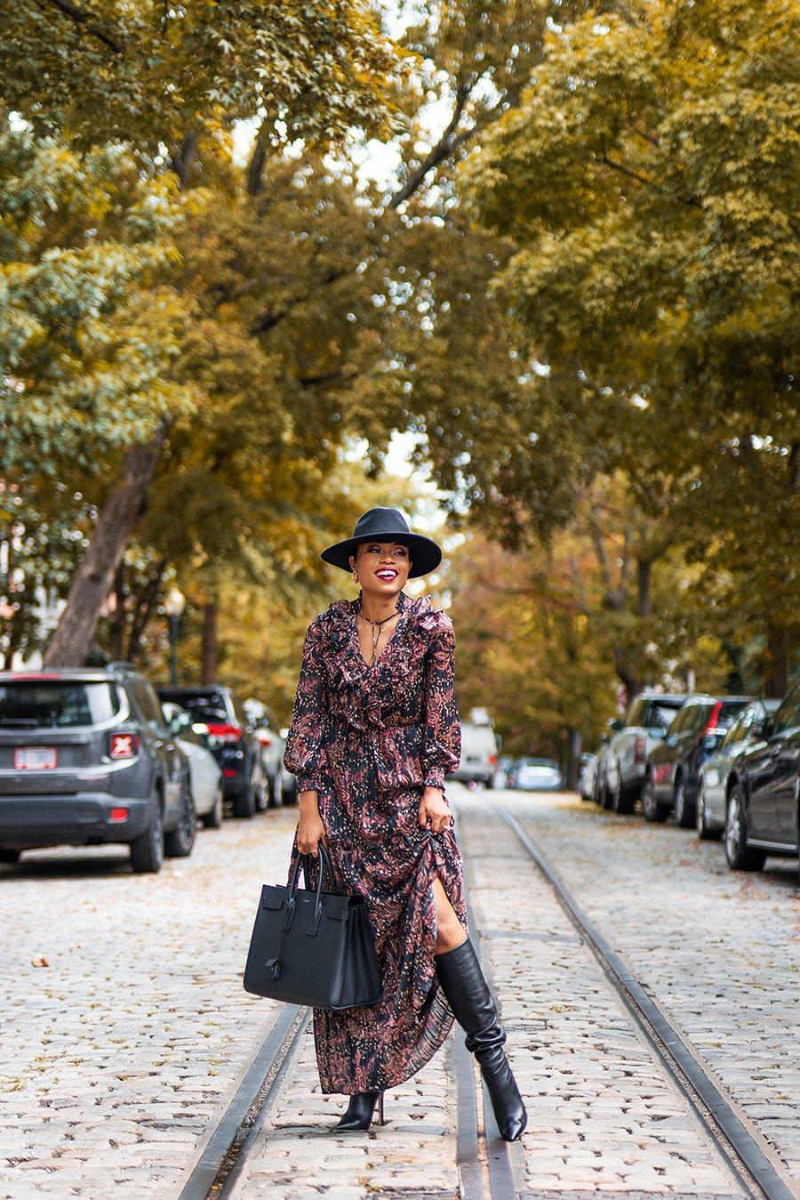stella-adewunmi-of-jadore-fashion-blog-shares-mango-print-dress