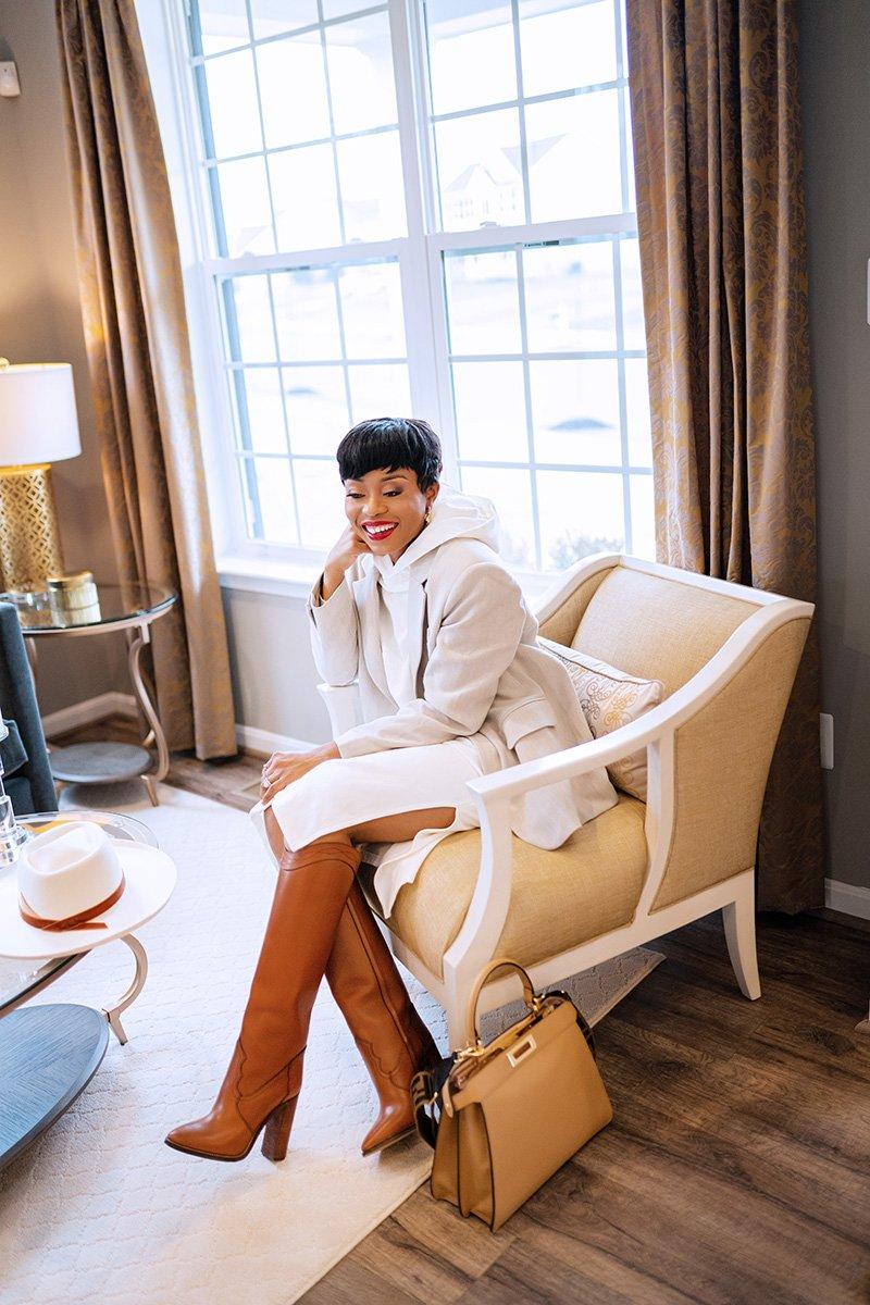 Stella-adewunmi-of-jadore-fashion-blog-share-hm-hooded-dress