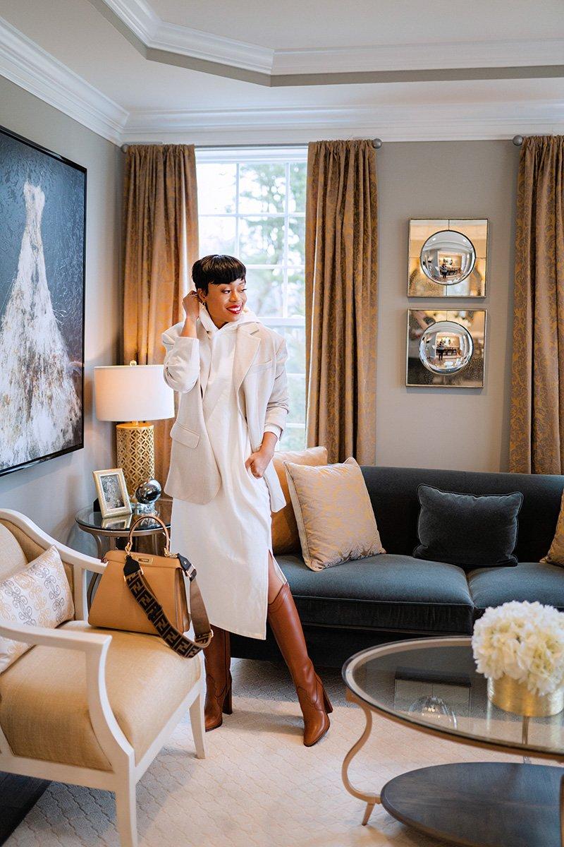 Stella-adewunmi-of-jadore-fashion-blog-share-how-to-elevate-sweatshirt-dress