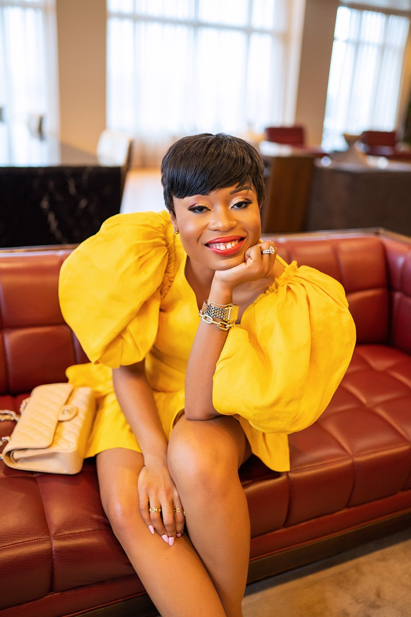Stella-adewunmi-of-jadore-fashion-blog-share-aje-chateau-mini-dress-shopbop