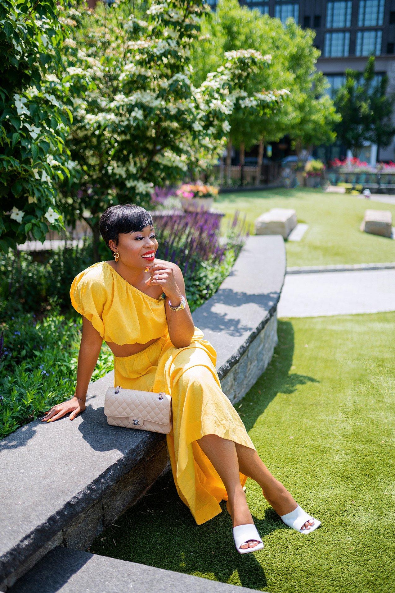 Stella-Adewunmi-of-jadore-fashion-shares-summer-dress-farmrio-dress